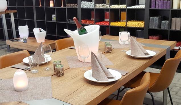 Weihnachtsdeko Für Gastronomie.Outlet Und Werksverkauf Für Servietten Imagilight Led Leuchten Kerzen